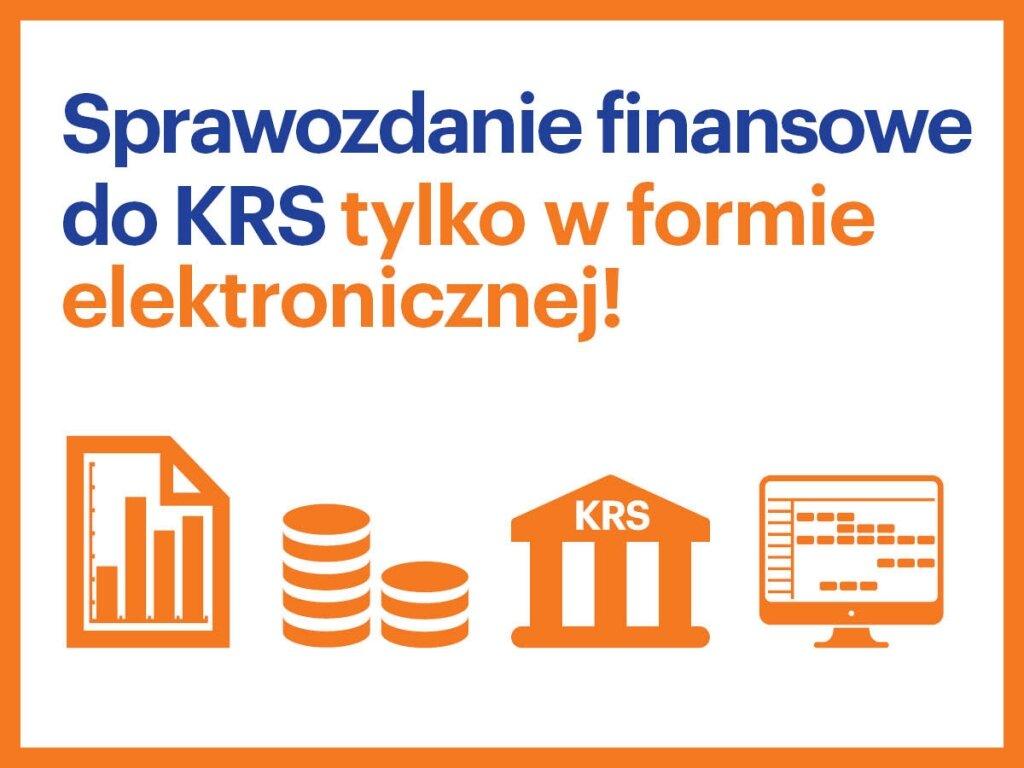 Sprawozdanie finansowe już tylkowwersji elektronicznej
